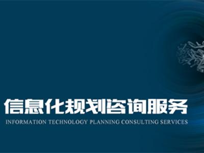 分享专业IT规划服务